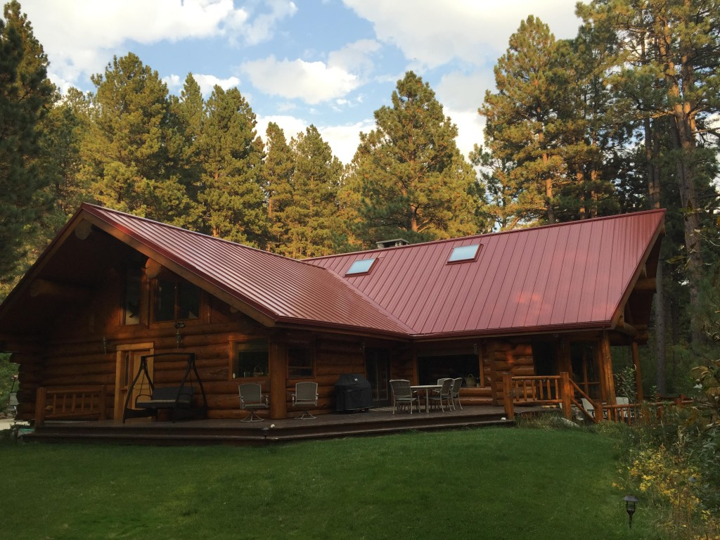 Why do people choose metal roofs beartooth metal Cabins with metal roofs