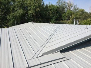Seamless Metal Roof