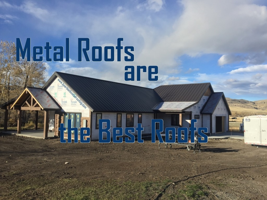 Metal Roofs are Best