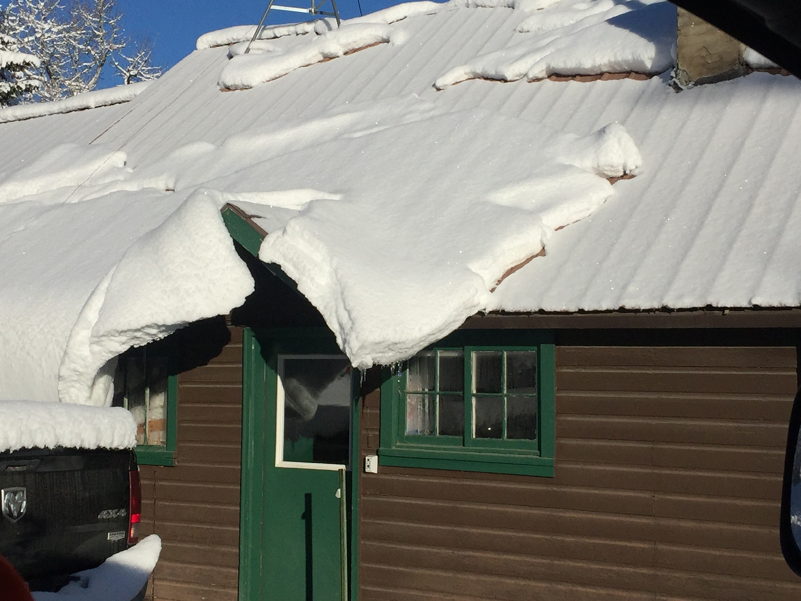 Your Metal Roof In The Winter Beartooth Metal