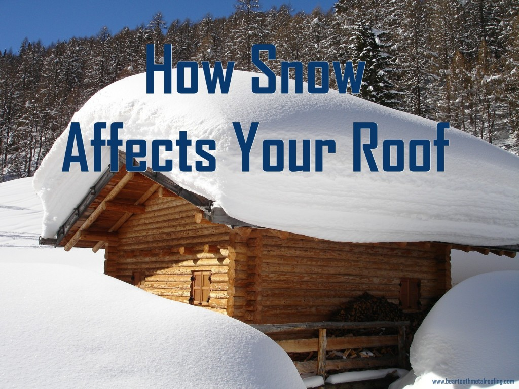 How Snow Affects Your Roof