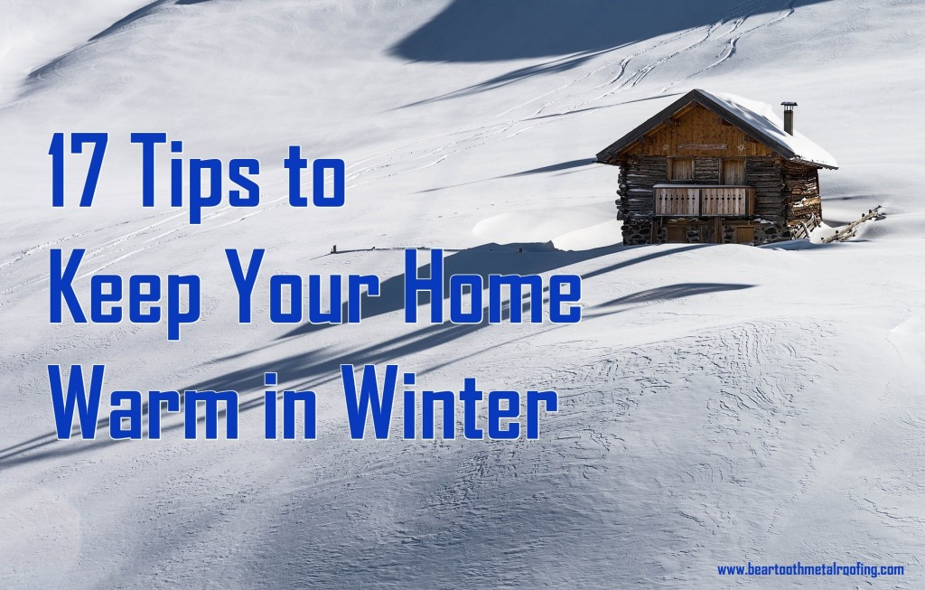 17 Way to Keep Your Home Warm