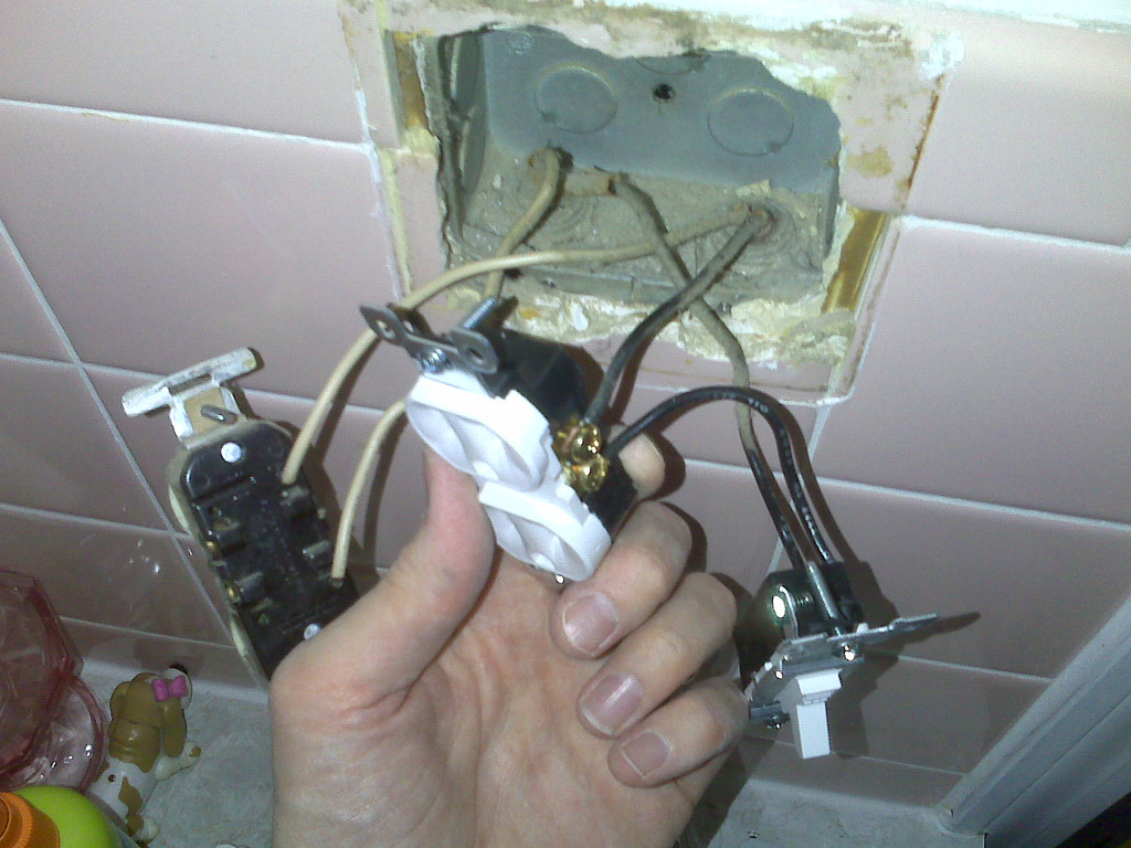Electrical wire problems.