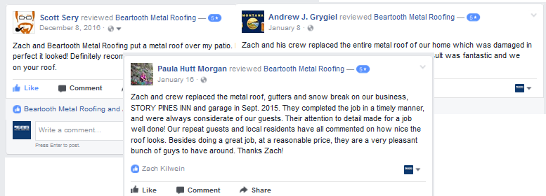 Reviews for Beartooth Metal Roofing
