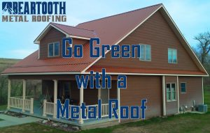 save energy with a metal roof