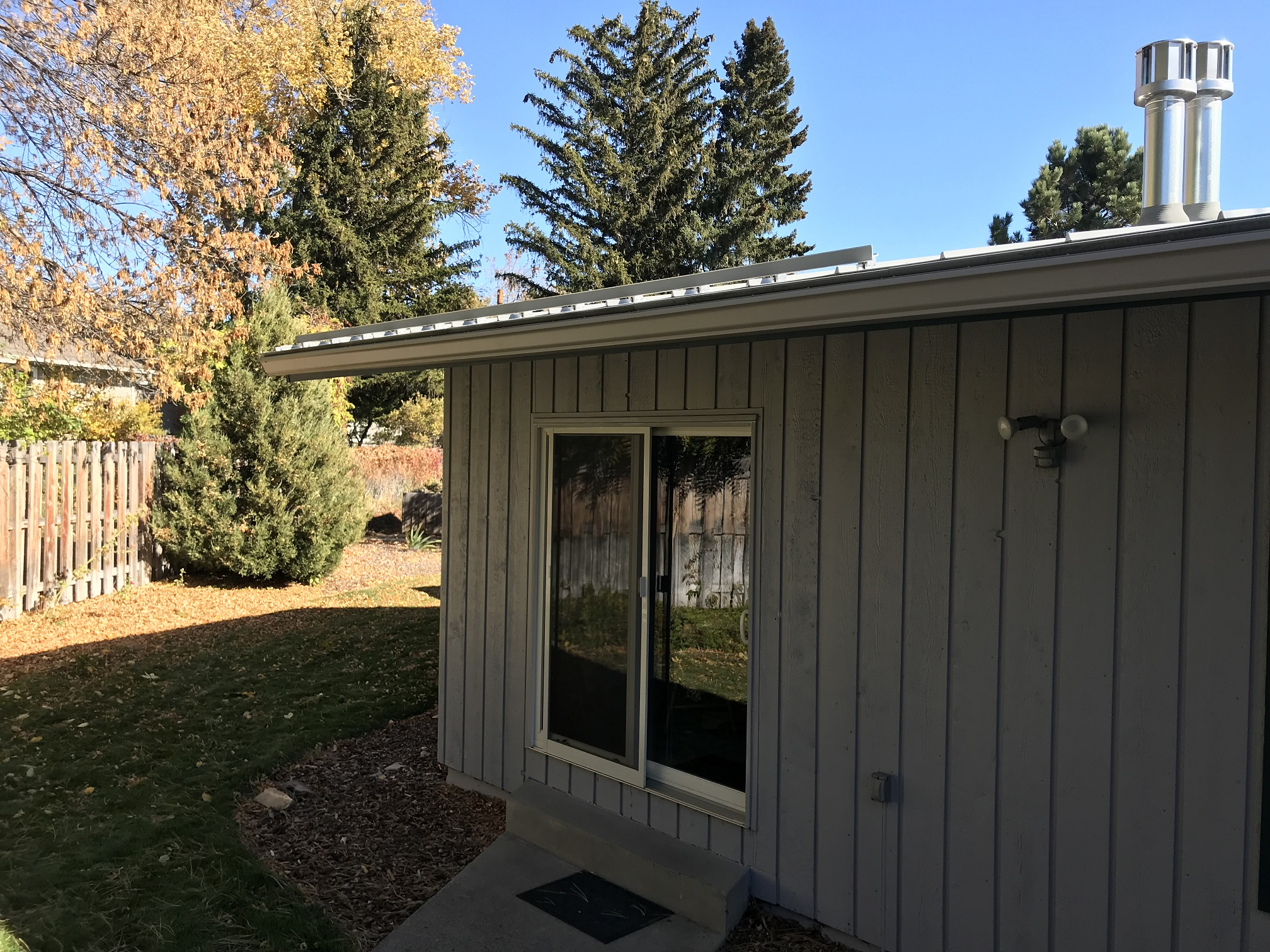 Metal roof in Billings Montana