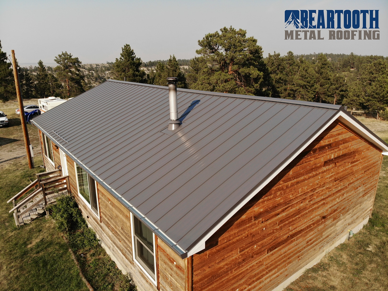 Upgrading To A Metal Roof After A Hail Storm Beartooth